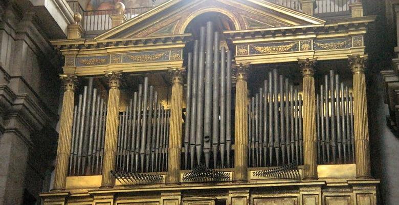 1.300 personas llenan los conciertos de órgano en la Real Basílica del Monasterio de El Escorial