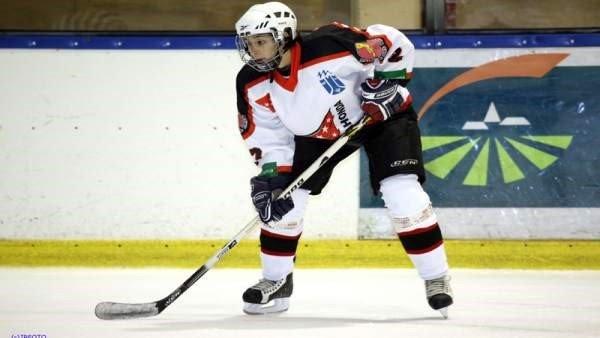 Hª del Hockey Hielo en Majadahonda: Luciano Basile, Ernesto González y Mª Gurrea (2010-11)