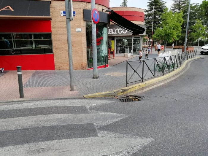El Ayuntamiento de Majadahonda corta por obras el cruce de Gran Vía y Colón