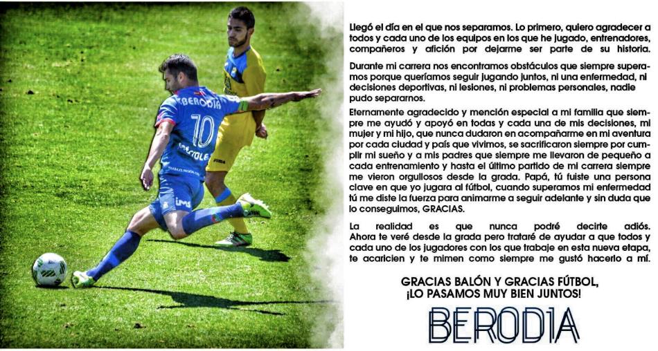 Fútbol Majadahonda: carta de despedida de Berodia, fichaje de David Aznar (Real Madrid femenino), Fonda (Orihuela) y Jano (Austria)