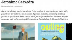 """Los artistas que huyeron del outing y el primer ministro gay portada en """"Interviú"""" (XII)"""