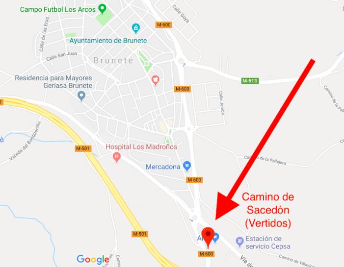 Comunidad de Madrid autoriza un pestilente vertido de lodos en Brunete denunciado ante Guardia Civil Majadahonda (Seprona)