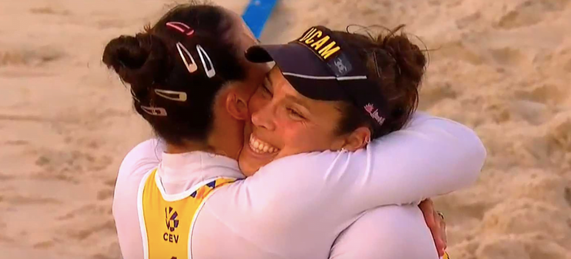 """Voley Playa 2019: Majadahonda bronce europeo, campeona de España femenino sub 21 y """"filicidio"""" en Laredo"""