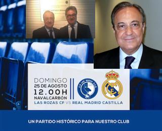 Las Rozas se estrena contra Real Madrid Castilla de Raúl, Florentino y Rodrygo: 400 socios en 1 mes
