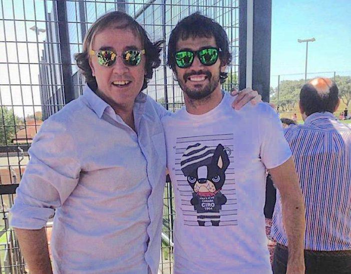 """El entrenador Pablo López y el futbolista Arribas: """"No sabía si llegaría a la élite pero por cabezonería no iba a ser"""""""