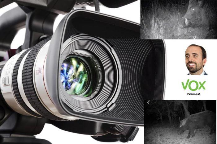 Vox anuncia cámaras de TV para jabalís de Majadahonda pero denuncia que la Comunidad de Madrid se inhibe