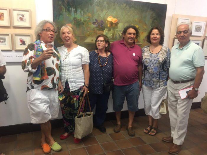 """La pintora Antonia Nieto exhibe una """"Retrospectiva 1979-2019"""" en San Lorenzo de El Escorial"""