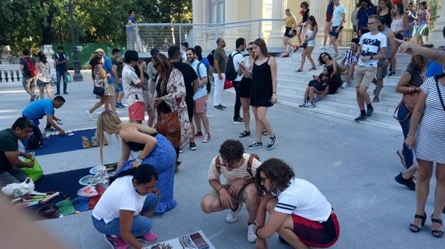 """Rotary Club convierte a 16 jóvenes de todo el mundo en """"embajadores"""" de Majadahonda y Ávila"""