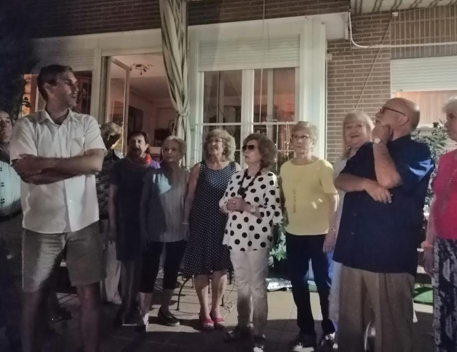 """El Final del Verano: Fiesta nocturna y encuentro de artistas en """"Luisiana"""" con zarzuela y recital de poemas"""