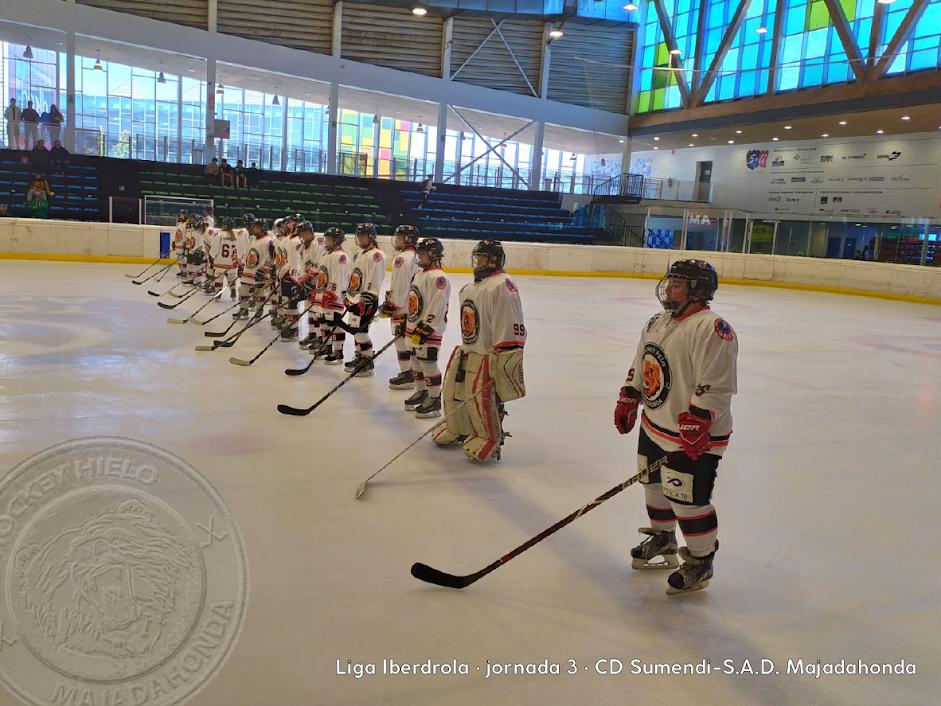 Hockey Hielo: victoria a domicilio del Majadahonda femenino en Vitoria (0-5) y buen papel de la cantera