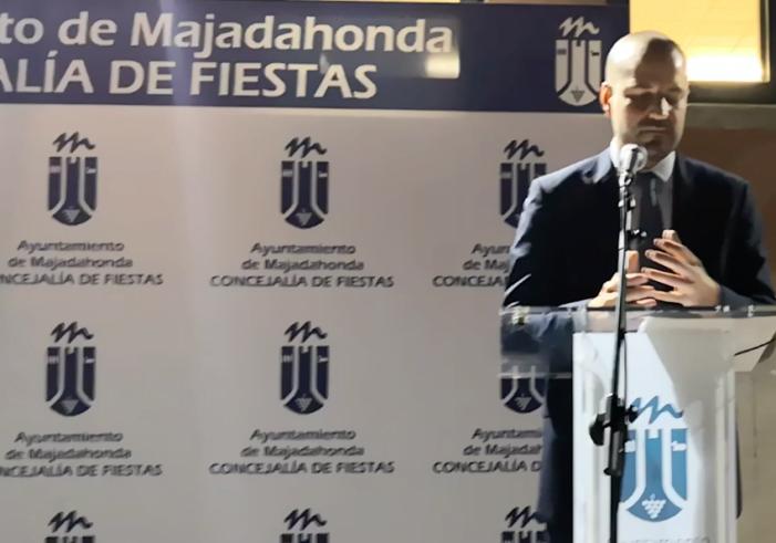 """Ustarroz, alcalde de Majadahonda: """"Las Fiestas 2019 han sido las más seguras de la última década"""""""