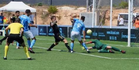Rayo Majadahonda se trae de Ibiza dos palos y cero puntos: justa derrota
