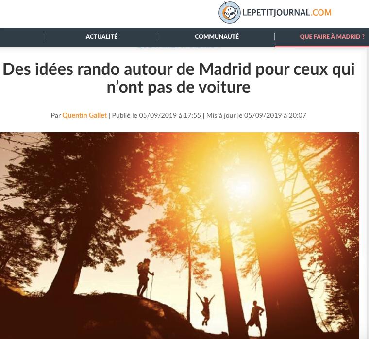 """Una web francesa de viajes recomienda el turismo de Naturaleza con un """"hermoso paseo"""" por Majadahonda"""