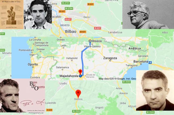 Orozko (Vizcaya) homenajea al poeta Blas de Otero en el 40º aniversario de su muerte en Majadahonda