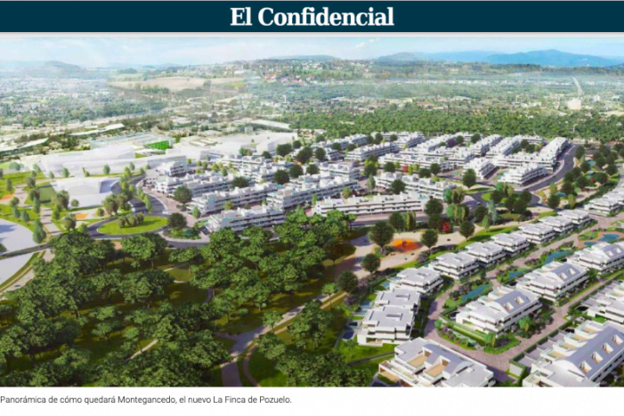"La parálisis urbanística de Majadahonda pierde 100 M€: Pozuelo autoriza ""La Finca 2"""