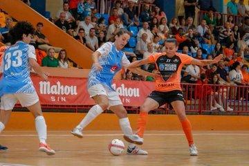 Fútbol Sala Femenino: Lauri evita una goleada aún mayor (5-0) del Burela (Lugo) al Majadahonda