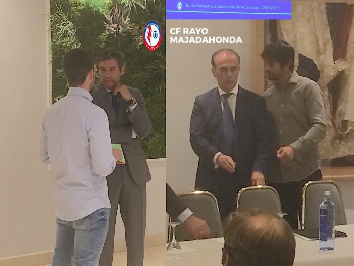 José Mª Sanz, nuevo presidente del Rayo Majadahonda con Arribas como máximo accionista