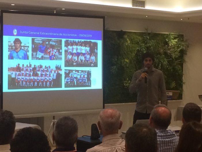 El emotivo discurso del futbolista Arribas en su toma de posesión del Rayo Majadahonda