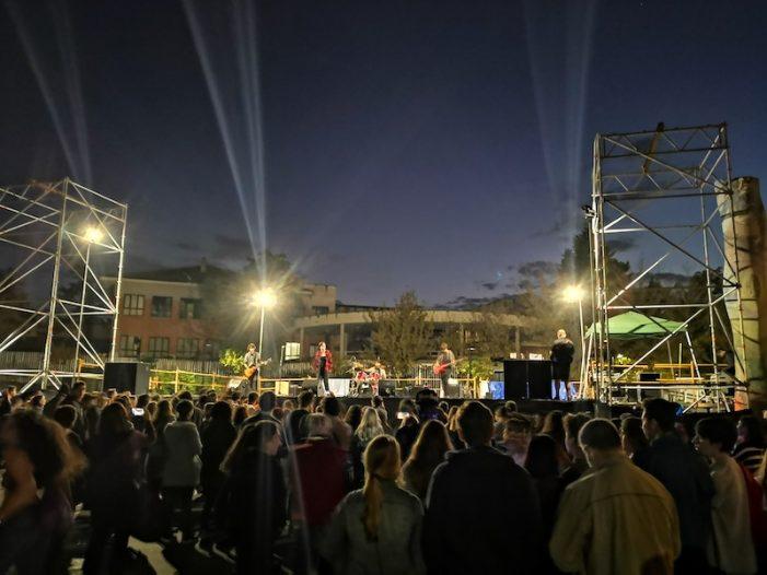 """""""Exitazo"""" de los cuatro grupos musicales majariegos en las Fiestas de Majadahonda 2019"""