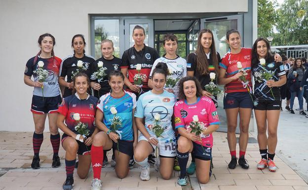 """Rugby: CR Majadahonda gana al """"Sanse"""" el Torneo contra la Violencia de Género de Valladolid"""