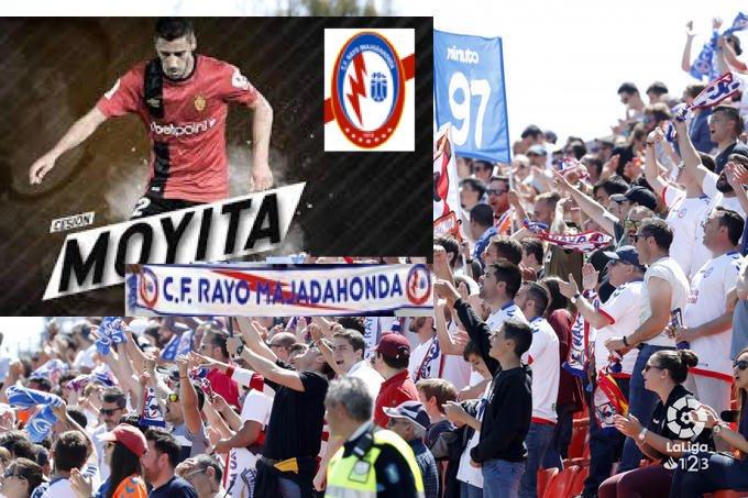"""Rayo Majadahonda ficha a un delantero de 1ª División: """"Moyita"""" (RCD Mallorca)"""