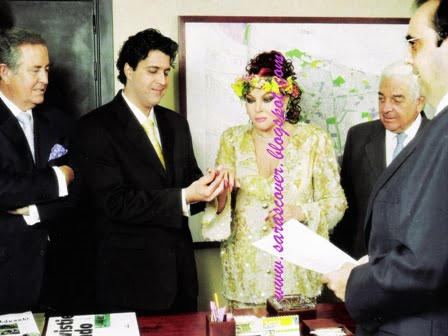 """La boda de Sara Montiel en Majadahonda dentro del despacho del alcalde """"Willy"""" Ortega vuelve a TV"""