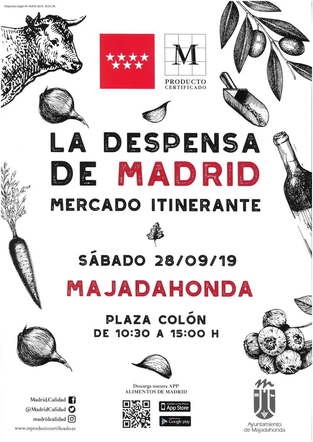 La Despensa de Madrid (Mercado) llega a Majadahonda: quejas en Roza Martín, El Plantío, Sta Catalina, Waterpolo y manifestación climática