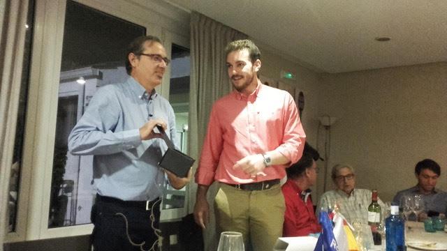 """La """"brillante"""" conferencia de Federico Utrera en el Rotary Club Majadahonda (Monte Claro): """"Videoarte para inteligentes"""""""
