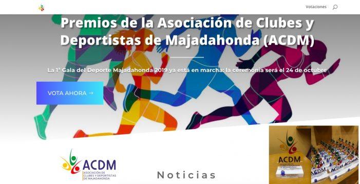 Los Premios del Deporte Majadahonda 2019 (ACDM) estrenan página web y redes sociales
