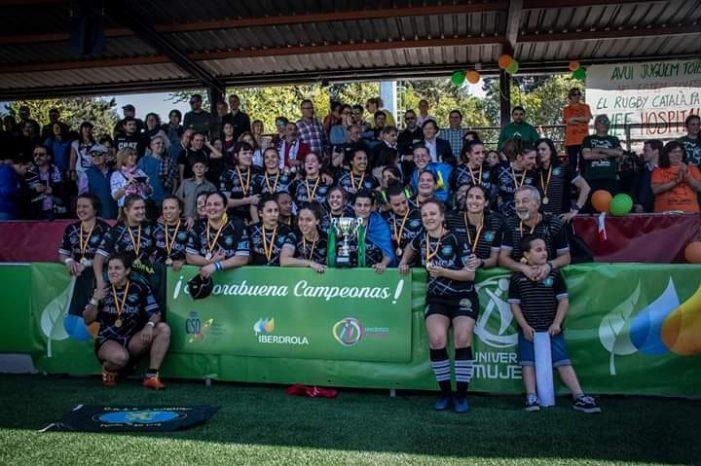 """Rugby Femenino: las jugadoras del CR Majadahonda """"son unas máquinas"""" pero las favoritas son las """"cocos"""" de Sevilla"""
