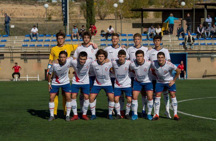 "Rayo Majadahonda juvenil piensa en el CD Badajoz tras golear al Santa Marta (Salamanca) con ""hat trick"" de Dumitru"