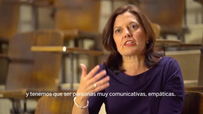 La Dra Aránzazu González del Alba (Puerta de Hierro Majadahonda) nueva directiva de los oncólogos españoles