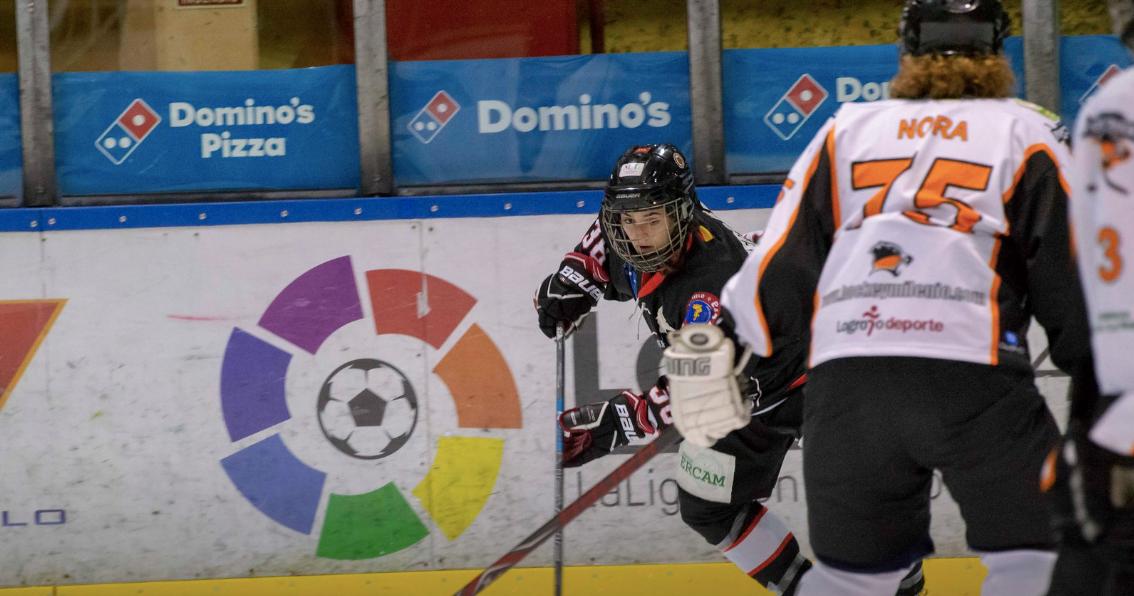 Hockey Hielo Majadahonda: goleada del femenino al Milenio Logroño y el junior saca 1 punto en Cataluña