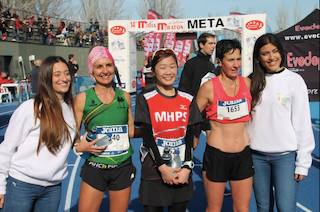"""Atletismo: Montse Sánchez (Majadahonda) gana los 12,5 Km de la """"Vereda del Eresma"""" con una marca de 58.47″"""