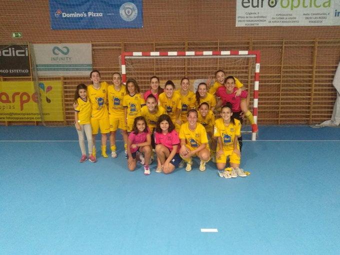 Fútbol Sala Femenino: Alcorcón se lleva el derbi a domicilio ante un Majadahonda que sigue sin puntuar en la tabla