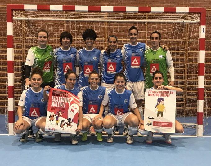 """Fútbol sala femenino: """"chaparrón"""" del At. Madrid al Majadahonda con gol del honor de Desi (1-7)"""