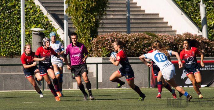 """Rugby Femenino: CR Majadahonda se lleva el derby en Pozuelo tras """"arrasar en melé al Olímpico"""""""
