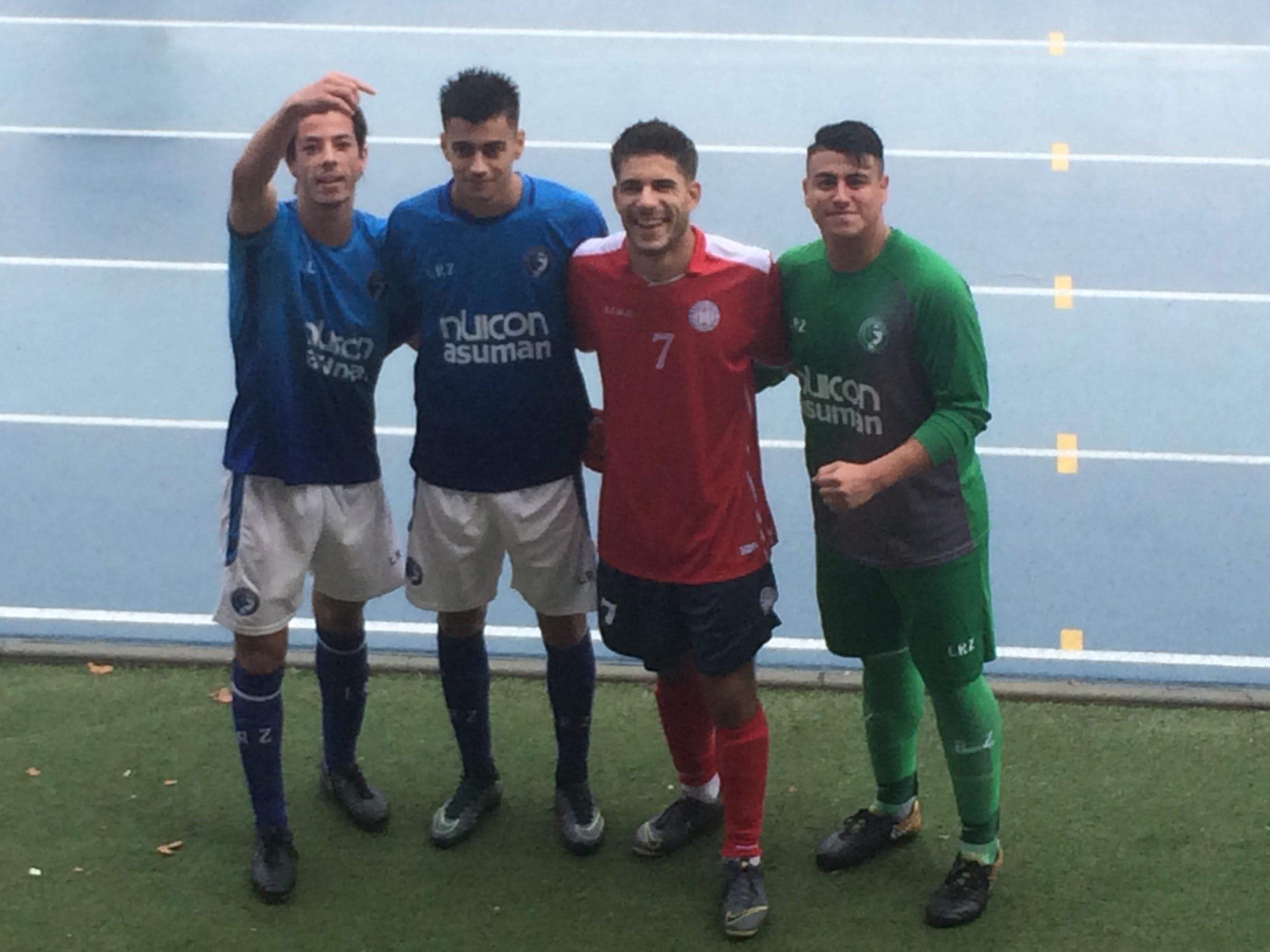 Fútbol cantera Majadahonda: Puerta Madrid, K-2 y los jugadores majariegos de Las Rozas y Boadilla