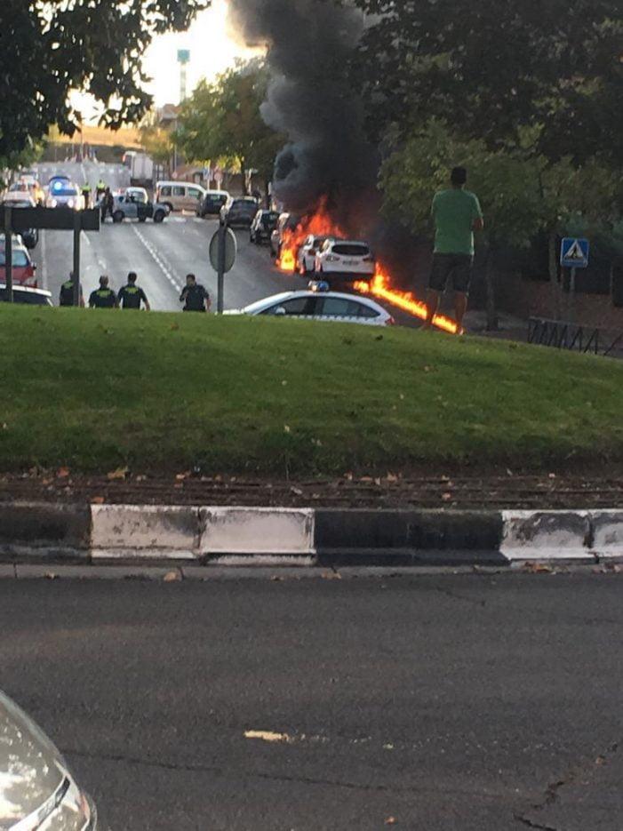 """Detenido un grupo de menores de Majadahonda: explotaron 1 coche por """"gamberrada"""""""