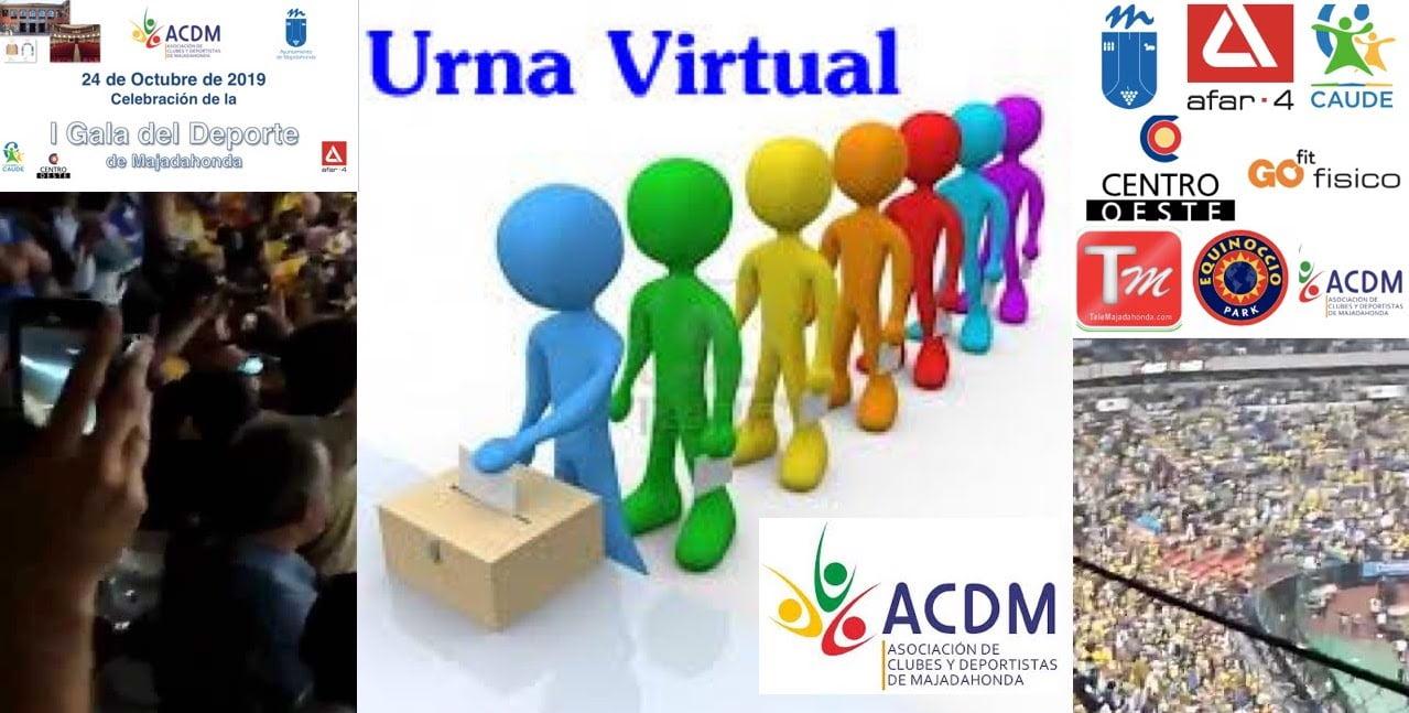 "La ""urna virtual"" de los Premios Deporte Majadahonda 2019 registra ya 13.000 visitas"
