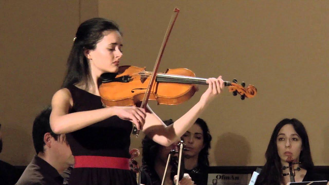 La violista de Majadahonda Cristina Cordero vuelve a triunfar con un concierto en Valdemorillo