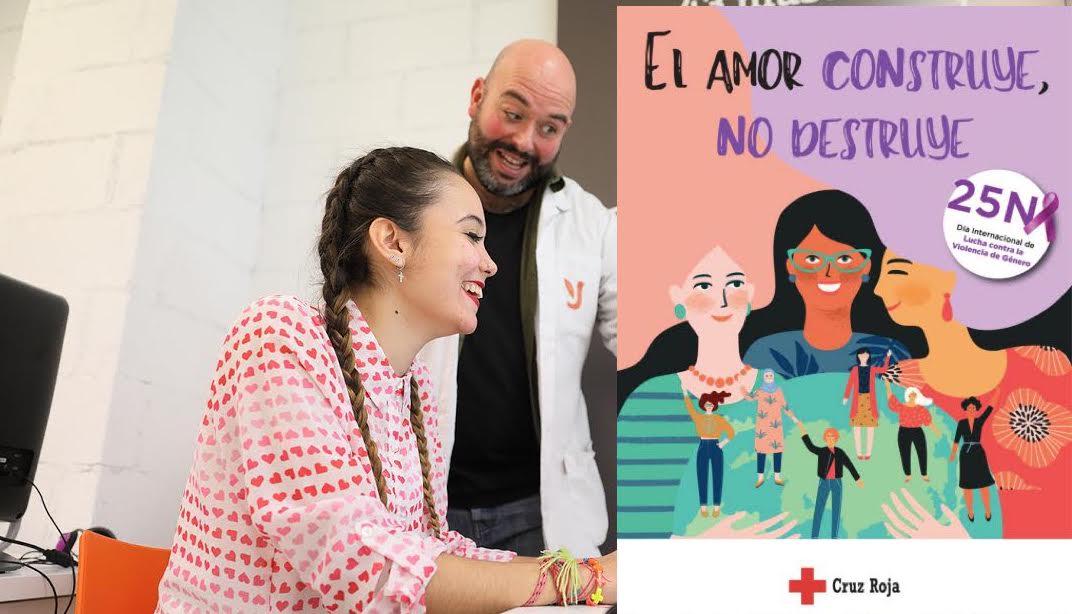 Cruz Roja Majadahonda-Las Rozas y Fundación Juan XXIII: Día contra la Violencia de Género y Empleo para Discapacidad Intelectual