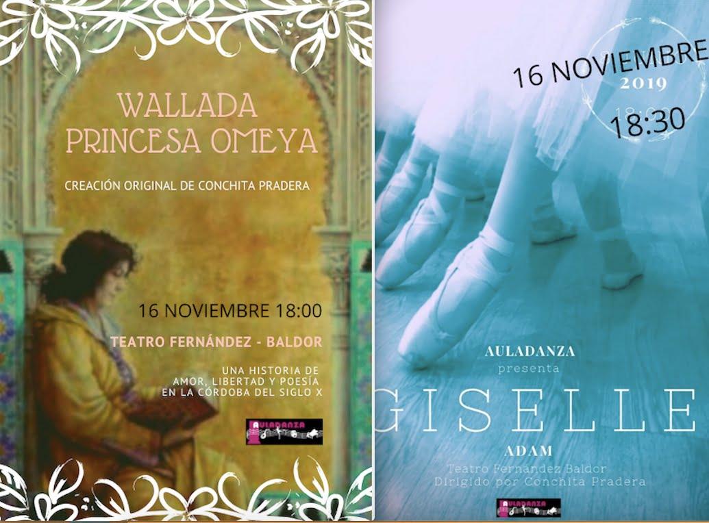 """Auladanza Majadahonda lleva 80 bailarines a Torrelodones para interpretar """"Giselle y Wallada"""""""
