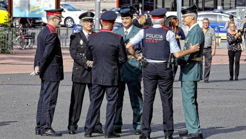 """El pleno del Ayuntamiento de Majadahonda muestra su """"inequívoco apoyo"""" a Policía y Mossos d´Esquadra en Cataluña"""