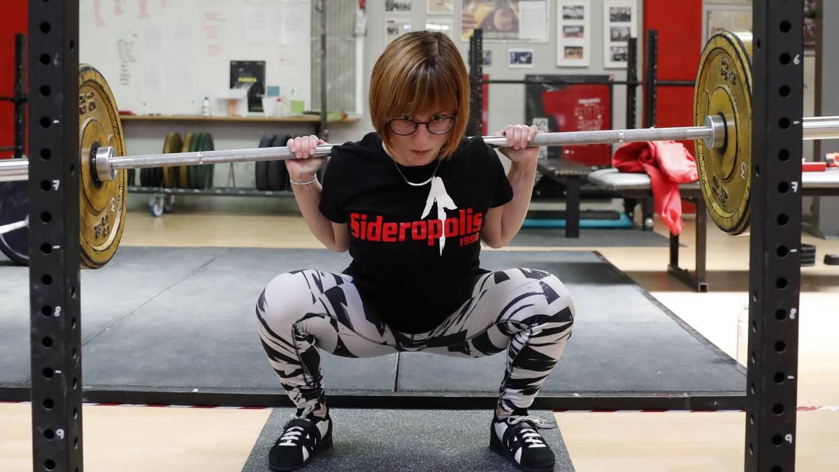 La levantadora de pesas de Majadahonda Susana Donadeu eleva 326 kilos y bate 3 récords de España