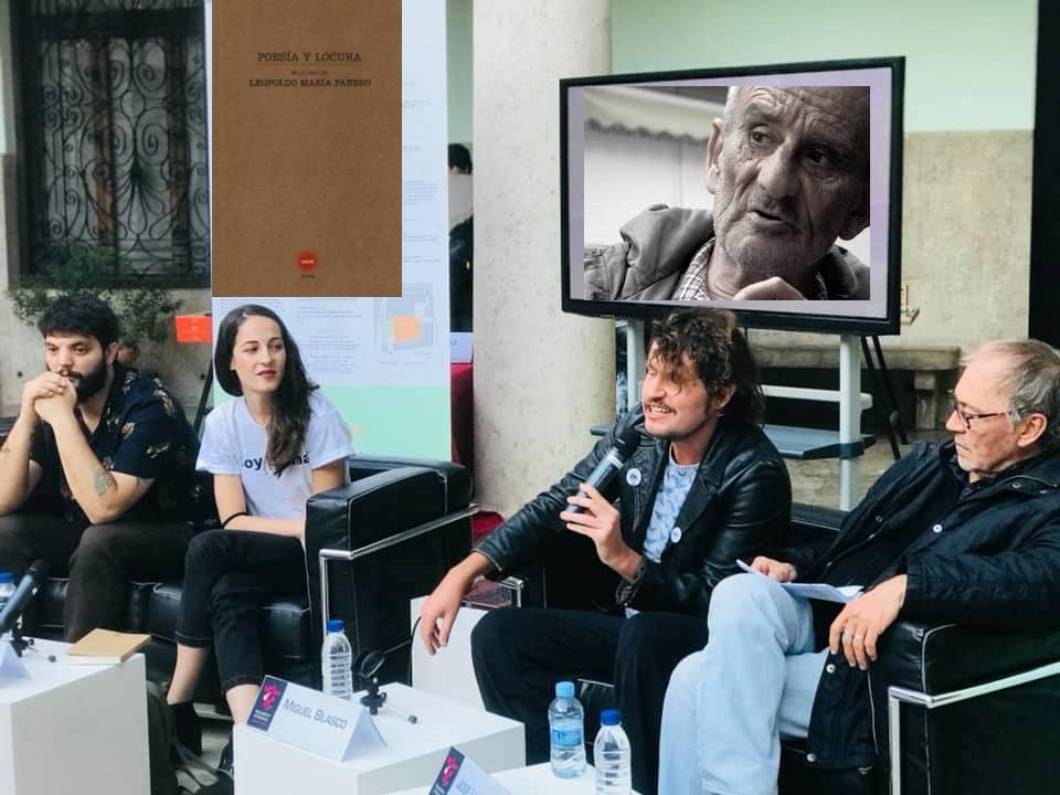 """El poeta Leopoldo Mª Panero """"reaparece"""" en Madrid de la mano de Miguel Blasco, Wences Ventura y Federico Utrera"""
