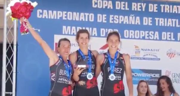 El Club Triatlón X3M Majadahonda, protagonista en Telemadrid con Jaime Menéndez y Sonia Bejarano