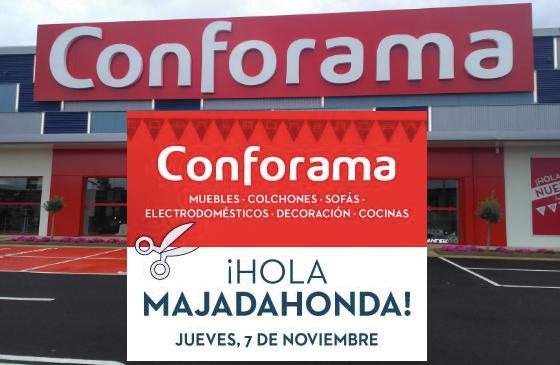 La primera tienda Conforama en Majadahonda se inaugura con grandes ofertas para su estreno