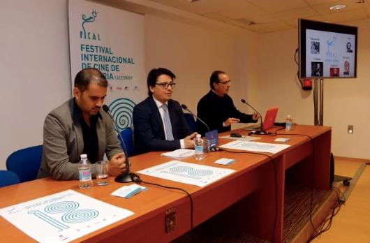 """La inauguración de """"Arrabal Audiovisual"""" en el Festival de Cine de Almería destaca su """"poliédrica"""" figura como videoartista"""