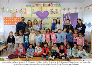 """21.283 niños españoles sin familia: éxito de ASEAF en el """"Día del Pijama"""" del colegio Caude Majadahonda"""